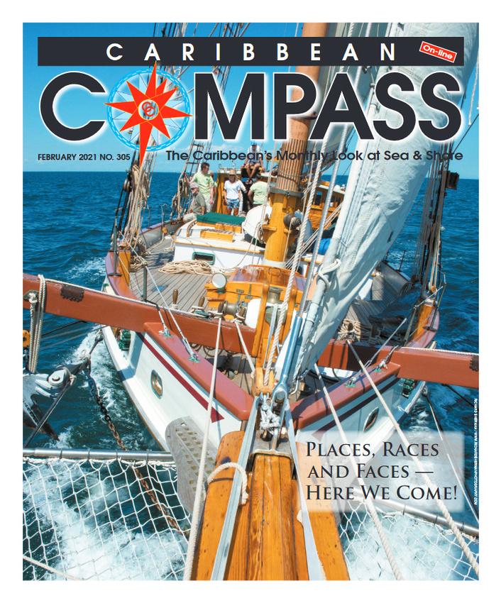 Caribbean Compass cover Feb21